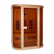 Cabina sauna cu infrarosu Sanotechnik Safir D50520, 3 persoane