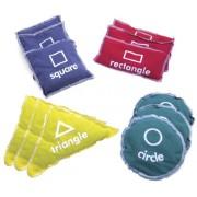 Gonge Geometric Bean Bags, Set of 12