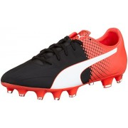 Puma Men's Evospeed 4.5 Fg Puma Black, Puma White and Red Blast Football Boots - 10 UK/India (44.5 EU)