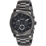 Fossil Chronograph Black Dial Mens Watch - FS4662I