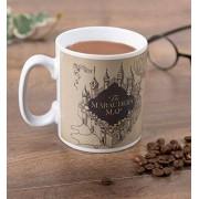 Harry Potter - Tekergők térképe hőre változó bögre