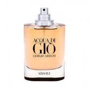 Giorgio Armani Acqua di Gio Absolu eau de parfum 75 ml Tester uomo