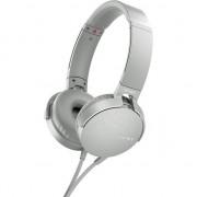 Casti audio Sony MDRXB550APW, EXTRA BASS, Difuzor neodim 30mm, Alb