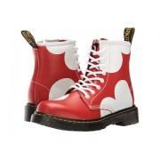 Dr Martens Delaney HRT Lace Boot (Little KidBig Kid) Red T Lamper