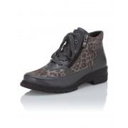 Caprice Boot im Animal-Look grau female Größe 40