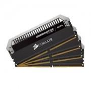 Memoire RAM Corsair Dominator Platinum 32 Go (4x 8 Go) DDR4 3466 MHz CL16 - Kit Quad Channel 4 barrettes de RAM DDR4 PC4-28800 - CMD32GX4M4B3466C16