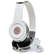 Signature VM-46 Solo HD wired Headphone(White over the ear)