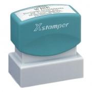 Xstamper N 12 szövegbélyegző