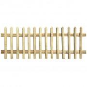 vidaXL Gard din țăruși, lemn de pin tratat, 170 x 180 cm, 5/7 cm