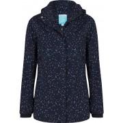 Happy Rainy Days Jacket Milou regenjas dames Maat: XL wit/donkerblauw