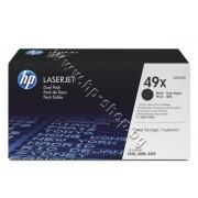 Тонер HP 49X за 1320/3390 2-pack (2x6K), p/n Q5949XD - Оригинален HP консуматив - к-т 2 тонер касети