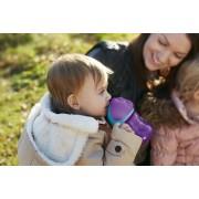 Philips Avent Itatópohár rugalmas szívószállal 200ml lányos