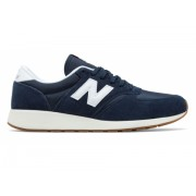 New Balance Men's 420 Re-Engineered Suede Navy with White