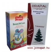 4. Gyermek Immun Csomag: Apotheke BronchiCare gyermektea és Drapal Erdeifenyőrügy szirup
