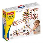 Joc creativ Skyrail Roller Coaster Maxi Quercetti,cu 20 metri traseu si 410 piese