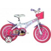 Bicicleta copii DINO BIKES 14inch - Barbie Dreams