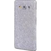 Folie Autocolanta Cu Sclipici Pentru Samsung Galaxy A5 A500 2015 Argintiu
