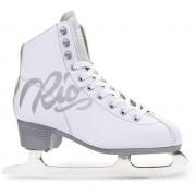 Rio Roller Script Patins à glace ( White)
