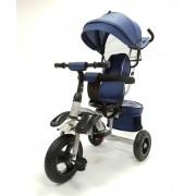 Tricikl guralica sa rotirajućim sedištem Happybike Big (model 419-1 sivo plavi)