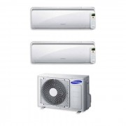 Samsung Condizionatore Samsung Dual Split 7000+7000 7+7 Btu Inverter Aj040fcj2eh/eu A++