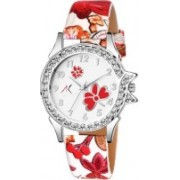 AK RICH stylish Bluish Women Italian~Fashion Dial PINK Artistic Design WATCH AK1910 Watch - For Girls
