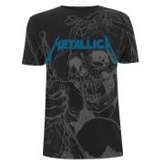 Herren T-Shirt Metal Metallica - Japanese - NNM - RTMTLTSBJAP