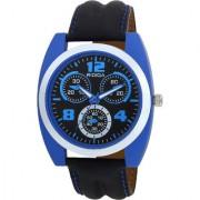 RIDIQA Analog Black Strap Black Dial Stylish Watch for Men's RD-103