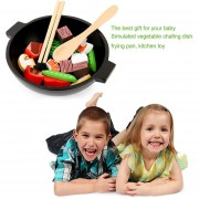 ER Lindo Diseño De Madera Baby Kids Juguetes De Cocina Cocina Educación Temprana Juguetes