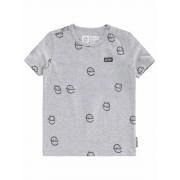 Tumble N Dry! Jongens Shirt Korte Mouw - Maat 86 - Grijs - Katoen/elasthan