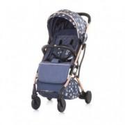 CHIPOLINO Kolica za bebe VIBE 6+ denim sky 710113