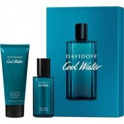 Davidoff Perfumes masculinos Cool Water Gift Set Eau de Toilette Spray 40 ml + All-In-One Shower Gel 75 ml 1 Stk.