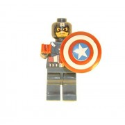 Captain America Lego Compatible Minifigure Toy Marvel Super Heroes