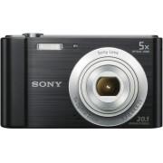 Digitalni foto-aparat Sony DSCW800, Crni