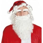 6 stuks: Set Kerst - muts, pruik, wenkbrauwen en baard   Kerstman   Santa