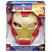 Iron man avengers maschera elettronica