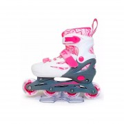 Rollers Heist Ft2 Con Luz Extensibles Talles 30 A 41 Abec-5