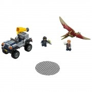 Lego cacería del pteranodon lego jurassic world 75926