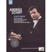 Video Delta András Schiff plays Bach - DVD