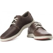 Clarks Milloy Vibe Corporate Casuals For Men(Brown)