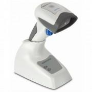 Скенер за баркод Datalogic QuickScan QM2430, 2D, люлка, бял