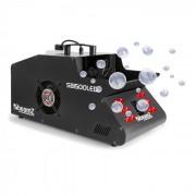SB1500LED Macchina Nebbia e Bolle di Sapone 1500W 1,35L LED-RGB DMX