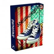Füzetbox T-Creativ A/4, Sneakers