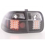 FK-Automotive LED Feux arrieres pour Honda Civic 4-portes (type EJ9 / EK1 /2/3) An 96-98, noir