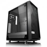 Кутия за компютър Fractal Design Meshify C – TG, 2 x Dynamic X2 GP-12 120 мм, черен, FD-CA-MESH-C-BKO-TGL