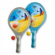 Set tenis plaja Super, Androni Giocattoli, 42 cm