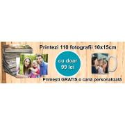 Pachet 110 poze cu cana personalizata gratis