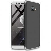 Husa telefon hurtel 360 Capac de protectie pentru intreaga carcasa fata + spate J4 Samsung Galaxy Plus 2018 J415 negru-argintiu universal