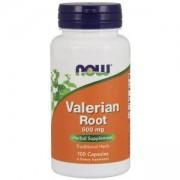 Валериан 500 мг. - Valerian Root - 100 капсули - NOW FOODS, NF4770