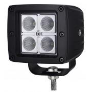 LED svetlá na pracovné stroje - 4 x 3W (12W)
