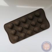 Forma din silicon pentru bomboane - scoici